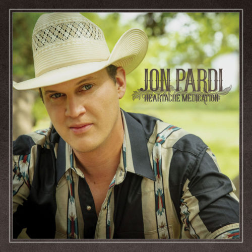 "Jon Pardi Releases Title Track of New Album, ""Heartache Medication"""
