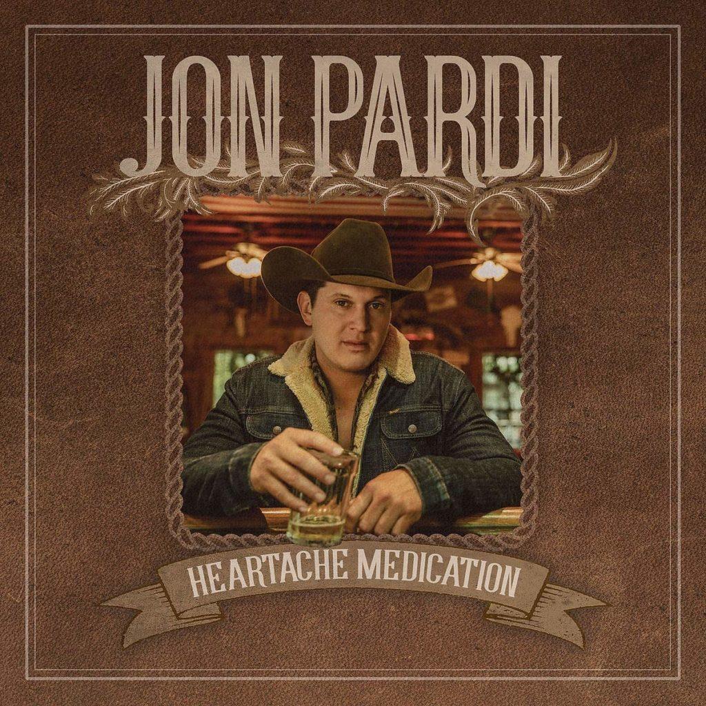 "Jon Pardi's ""Heartache Medication"" #1 on Country Radio"